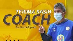 Indosport - PS Barito Putera melepas salah satu staf pelatih, Dino Sefriyanto.