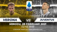 Indosport - Prediksi Liga Italia Verona vs Juventus: Bianconeri Bakal Kewalahan?