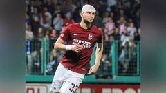 Indosport - Amer Bekic, striker baru Borneo FC asal Bosnia.