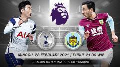 Indosport - Prediksi Liga Inggris: Tottenham Hotspur vs Burnley, Akhiri Rekor Buruk.