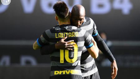 Lukaku Belum Lunas, Inter Milan Bakal Berikan Lautaro Martinez ke Man United. - INDOSPORT