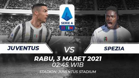 Prediksi Serie A Italia, Juventus vs Spezia. - INDOSPORT