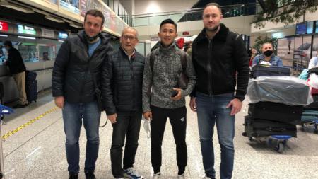 Pemain Indonesia, Miftah Anwar Sani terus beradaptasi dengan lingkungan di Bosnia. - INDOSPORT