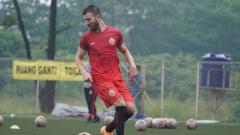 Indosport - Bek sayap Persija Jakarta, Marco Motta.