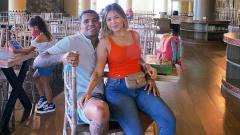 Indosport - Beto Goncalves bersama sang Istri, Dewi Costa