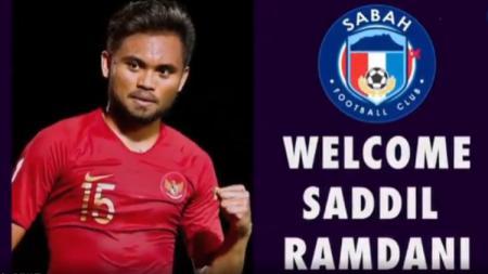 Saddil Ramdani Jadi Pemain Baru Sabah FA Musim Depan - INDOSPORT