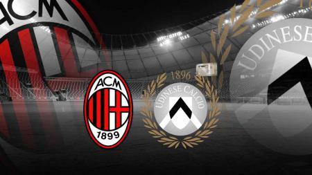 Pasca laga antara AC Milan vs Udinese, Luca Gotti menyatakan kemarahannya pada penalti kontroversial yang didapatkan oleh Rossoneri. - INDOSPORT