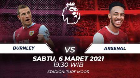 Burnley vs Arsenal. - INDOSPORT