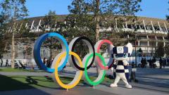 Indosport - Miraitowa, maskot Olimpiade Tokyo.