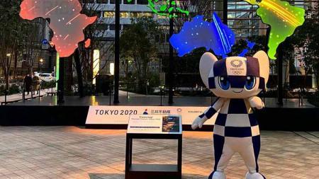 Miraitowa, maskot Olimpiade Tokyo. - INDOSPORT