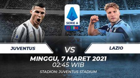 Berikut link live streaming pertandingan Serie A Liga Italia antara Juventus vs Lazio. - INDOSPORT