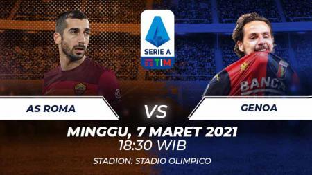 Hasil Serie A Italia AS Roma vs Genoa: Giallorossi Amankan Tiga Poin. - INDOSPORT