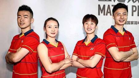 Media Malaysia soroti nasib tidak menguntungkan tim bulutangkis China menjelang bergulirnya Olimpiade Tokyo 2020. - INDOSPORT
