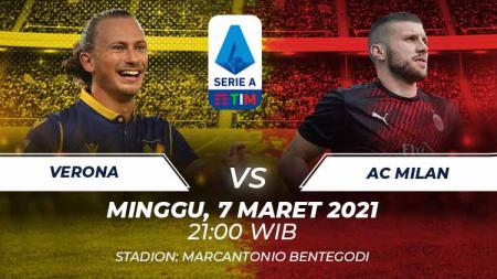 Verona vs Ac Milan. - INDOSPORT