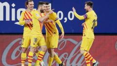 Indosport - Lionel Messi berperan memberikan assist untuk dua gol Barcelona dalam pertandingan melawan Osasuna.