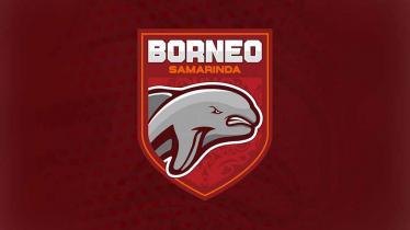 Logo Borneo FC baru.