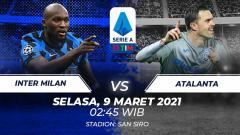 Indosport - Link Live Streaming Serie A Italia: Inter Milan vs Atalanta.