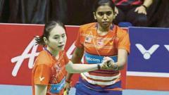 Indosport - Pearly Tan/Thinaah Muralitharan menjadi ganda putri utama Malaysia di Piala Sudirman dan Piala Uber 2021