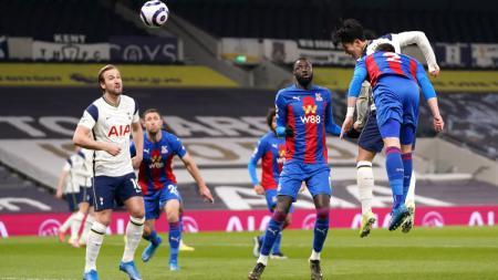 Hasil laga Liga Inggris antara Tottenham Hotspur vs Crystal Palace. - INDOSPORT