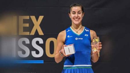 Carolina Marin juara Swiss Open. - INDOSPORT