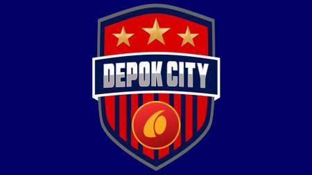 Logo klub Liga 3, Depok City. - INDOSPORT