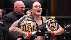 Indosport - Amanda Nunes, petarung MMA asal Brasil.
