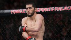 Indosport - Islam Makhachev, petarung MMA asal Rusia.