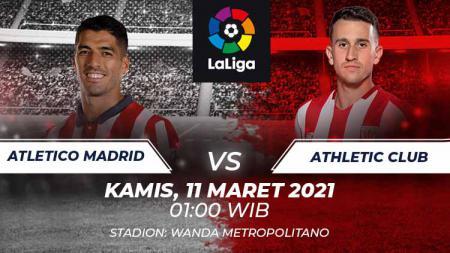Link Live Streaming LaLiga Spanyol: Atletico Madrid vs Athletic Bilbao - INDOSPORT
