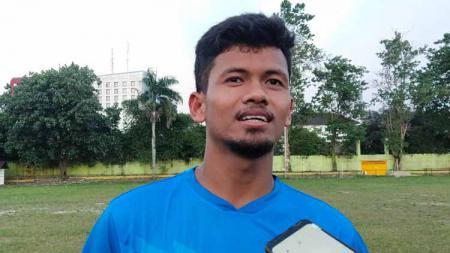 Pemain PSMS Medan, Ilham Fathoni. - INDOSPORT
