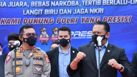 Ikatan Motor Indonesia (IMI) menggandeng Korps Lalu Lintas (Korlantas) Polri terkait pengelolaan ISDC (Indonesia Safety Driving Center). - INDOSPORT