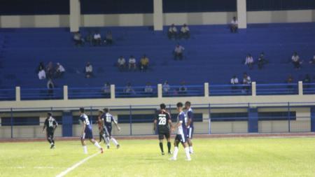 Tim PON Papua kontra tim Ifan Sport, Rabu (10/3/21) malam. - INDOSPORT