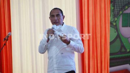 Gubernur Sumut sekaligus Pembina PSMS, Edy Rahmayadi. - INDOSPORT
