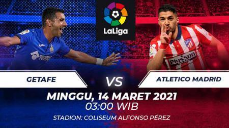 Getafe vs Atletico Madrid. - INDOSPORT