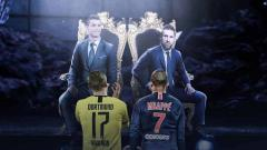 Indosport - Ajang Sertijab Messi-Ronaldo ke Mbappe-Halaand.