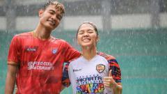 Indosport - Brylian Aldama bersama Anggita Oktaviani.