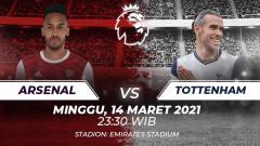 Indosport - Berikut 4 alasan Tottenham Hotspur akan meraih kemenangan atas Arsenal di Derby London Utara di lanjutan Liga Inggris, Minggu (14/03/21) malam WIB.