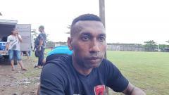 Indosport - Penyerang baru PSM Makassar, Patrich Wanggai.