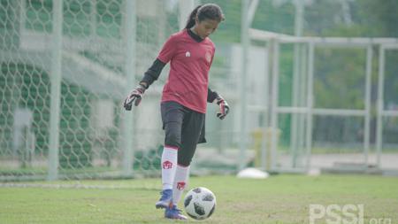 Salwa Rafidatun Nabila, pemain termuda yang dipanggil TC Timnas Wanita Indonesia. - INDOSPORT