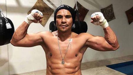 Juan Manuel Marquez, petinju mantan juara kelas bulu IBF dan WBA. - INDOSPORT