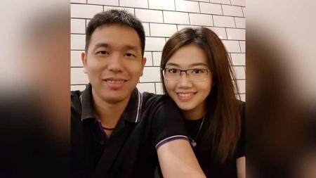 Hendra Setiawan dan Sandra Arief. - INDOSPORT
