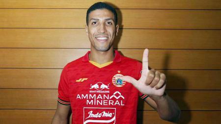 Yann Motta, pemain baru Persija Jakarta. - INDOSPORT