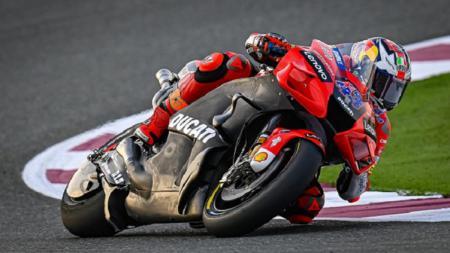 Pembalap Ducati Team asal Australia, Jack Miller, saat tes pramusim di Qatar. - INDOSPORT