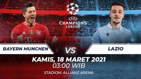 Bayern Munchen vs Lazio. - INDOSPORT