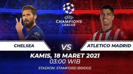 Chelsea vs Atletico Madrid. - INDOSPORT