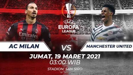 Prediksi AC Milan vs Manchester United. - INDOSPORT
