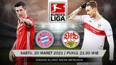 Indosport - Berikut link live streaming pertandingan Bundesliga Jerman Bayern Munchen vs Stuttgart.