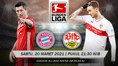 Berikut link live streaming pertandingan Bundesliga Jerman Bayern Munchen vs Stuttgart. - INDOSPORT