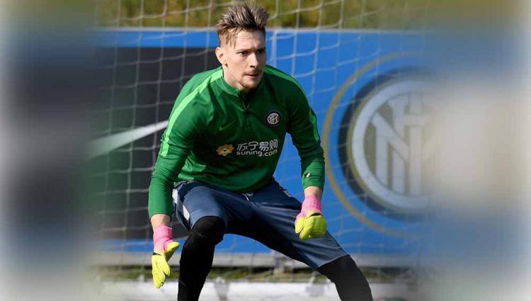 Ionut Andrei Radu, kiper Inter Milan. Copyright: Instagram@#ionutradu
