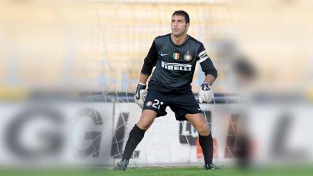 Pemain eks Inter Milan, Paolo Orlandoni. - INDOSPORT
