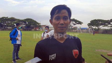 Bek kiri PSM Makassar, Abdul Rachman. - INDOSPORT